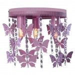 Lampa sufitowa ANGELICA PINK 3xE27 Milagro
