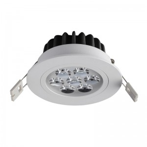 Lampa sufitowa PITCH WH Italux TS04108A 7W lampa do zabudowy led